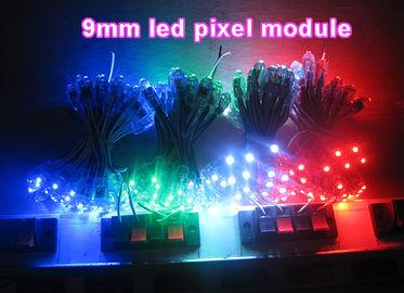 Las iluminaciones llevadas coloridas de la decoración del pixel del alto brillo que hacen publicidad cantan letras de canal llevadas del contraluz