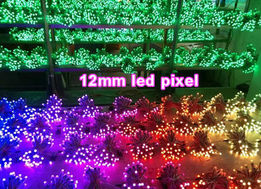 iluminaciones del pixel de 12m m LED