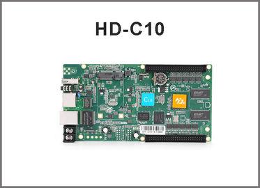 Regulador a todo color de conexión en cascada asincrónico del puerto de la tarjeta de control de HD-C10 rgb controller/USB