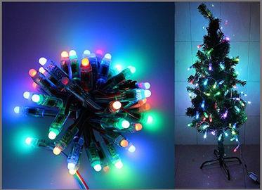 decoración direccionable digital del árbol de navidad de la secuencia LED del partido de 5V de los pixeles a todo color de la luz 50PCS 1903IC RGB 12m m