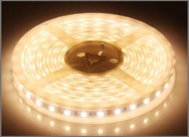Luz decorativa blanca flexible de la prenda impermeable IP65 de la secuencia de las tiras DC12V LED de la luz 3528SMD LED de la tira del LED